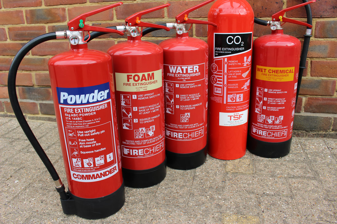Water Based Fire Extinguishers